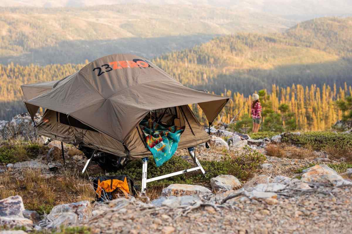 Weekender on Hitch tent