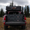 128 overland storage box with roof top tent