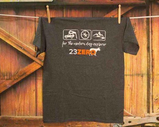 23zero tshirt