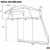 sydney roof top tent dimensions