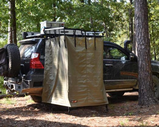 roof rack shower tent