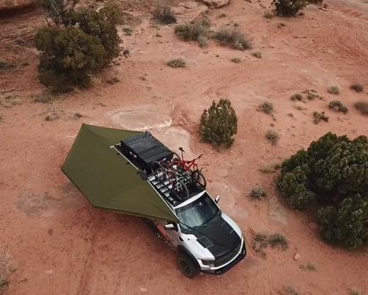 270 awning in desert