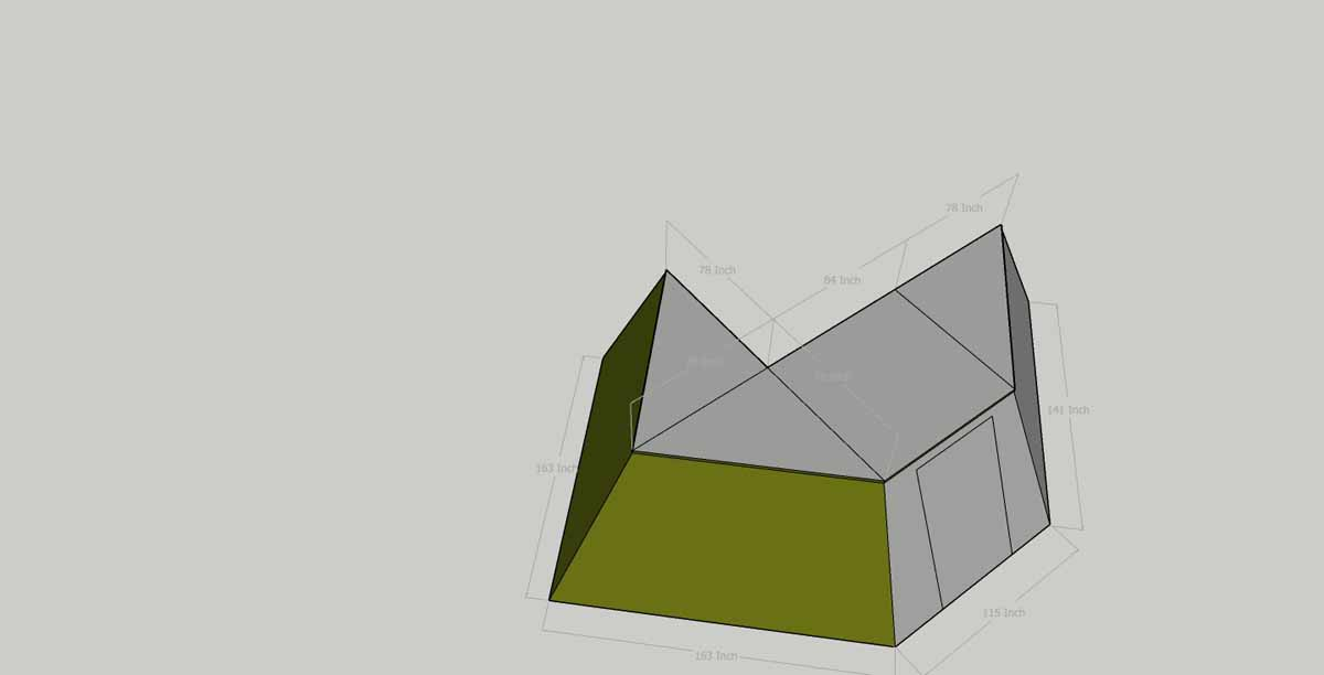 dimensions of 270 awning