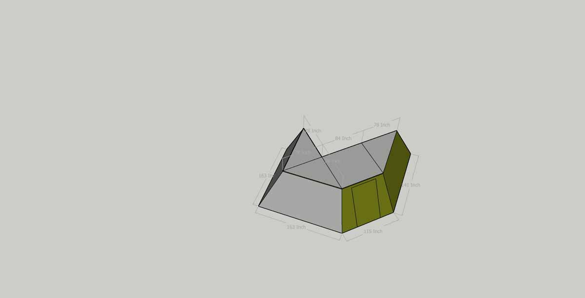 peregrine 270 awning dimensions