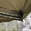arm corner of roof top tent