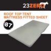 roof top tent mattress fitted sheet 87