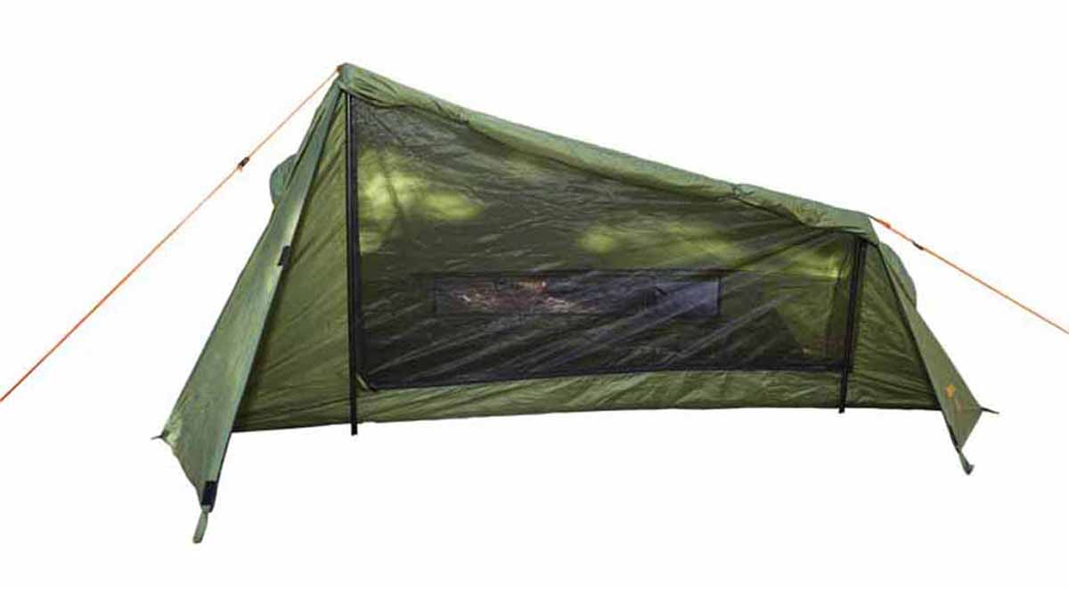 stash tent with door